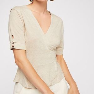 FREE PEOPLE - If only Wrap Top